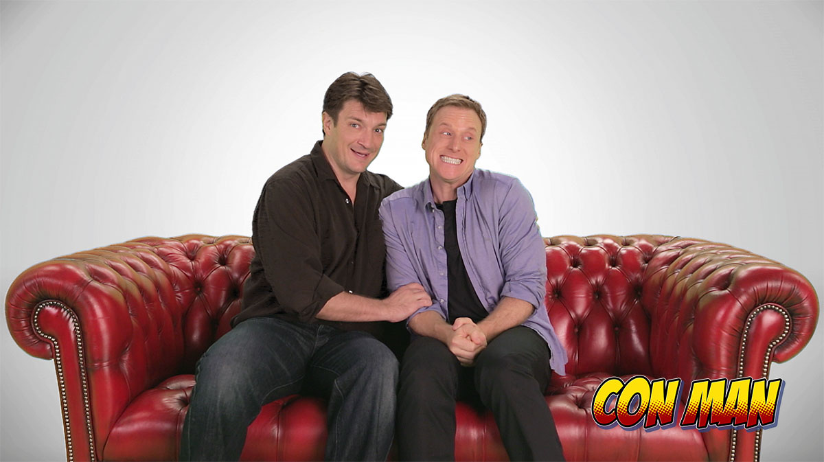 IndieWire - Alan Tudyk and Nathan Fillion Move Their Web Series 'Con Man' to Comic-Con HQ